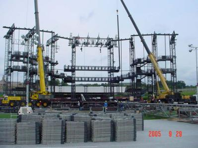 Building The Stage In Hershey