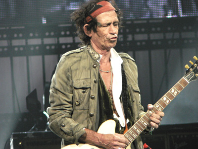 lucky in las vegas with keith richards the rolling stones